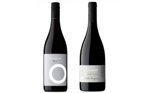 Cassegrain Reserve and White Label Shiraz 2018 Twin Pack