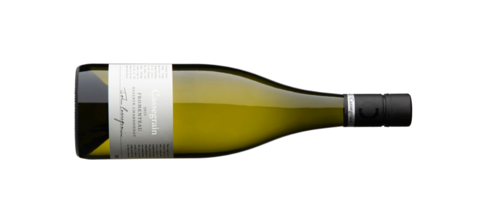 Botle shot of the 2019 Reserve Fromenteau Chardonnay