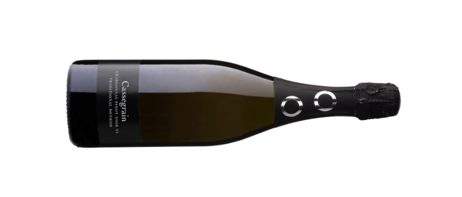 Botlle shot of cassegrain wine